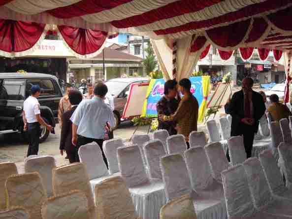 Para pemimpin Cabang BCA Sewilayah VI telah tiba