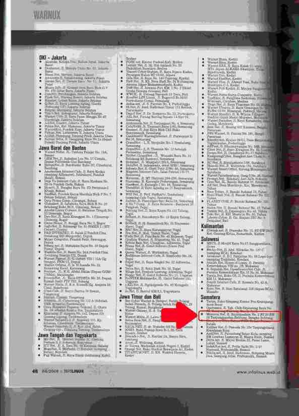 Warnet Linux di Infolinux 04/2009