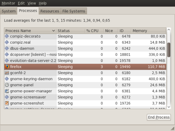 Penggunaan Memori Firefox 3.0 setelah berjalan