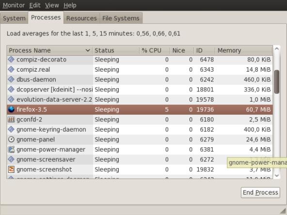 Penggunaan memori firefox 3.5