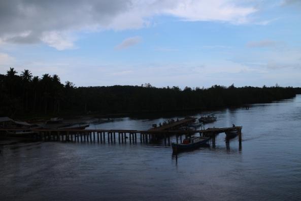 eks jembatan lama, yang telah selesai tugasnya