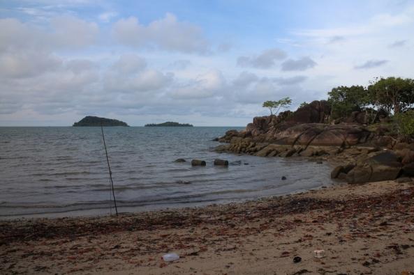 Pulau Limau Seri dari kejauhan