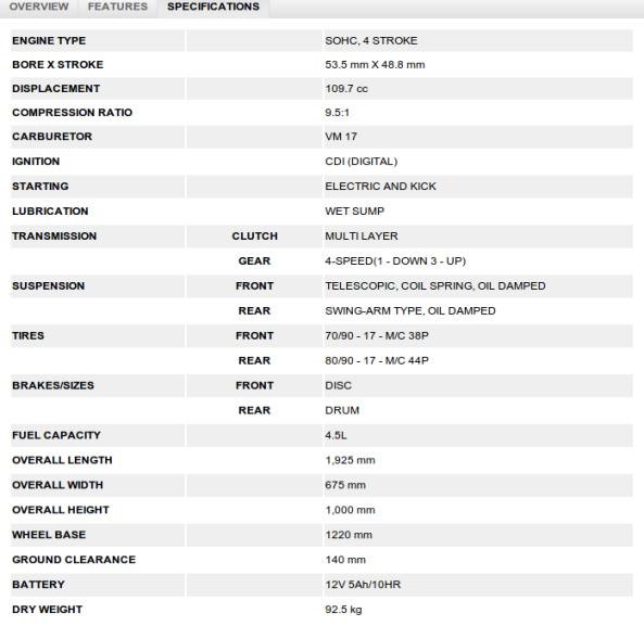 Suzuki Raider J Pro Spec And Price: Baby Satria FU Nggak Lebih Dari Raider J Pro 110