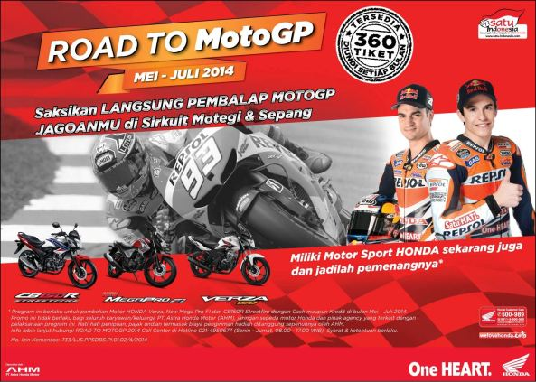 Lucky Draw Road To Moto GP