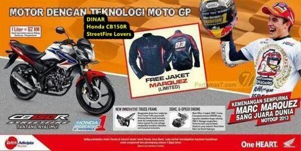 jaket-marquez-limited-edition-untuk-honda-cb150r