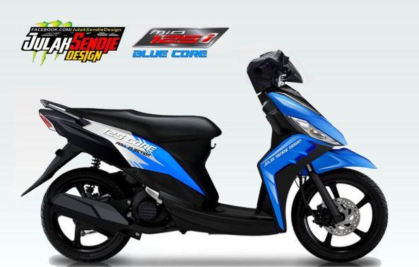 Yamaha-Mio-125-Blue-Core