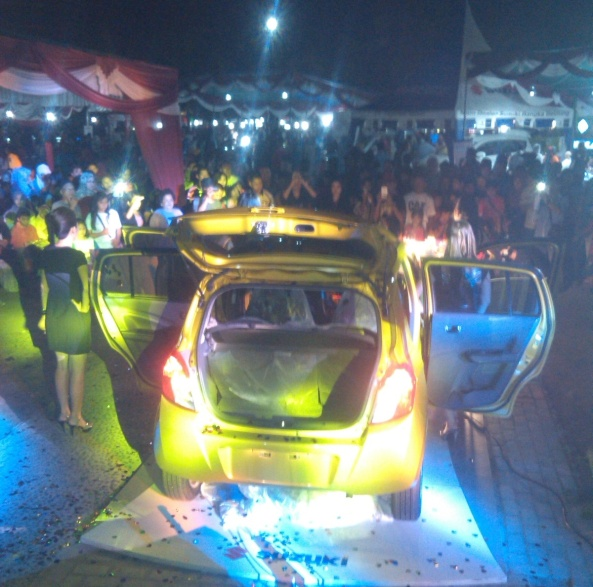 Launching Celerio 1