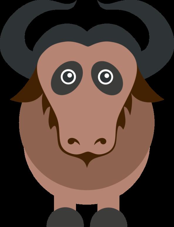 GNU-Wildebeest_by_Riley-Brandt_CC-BY-SA-3.0