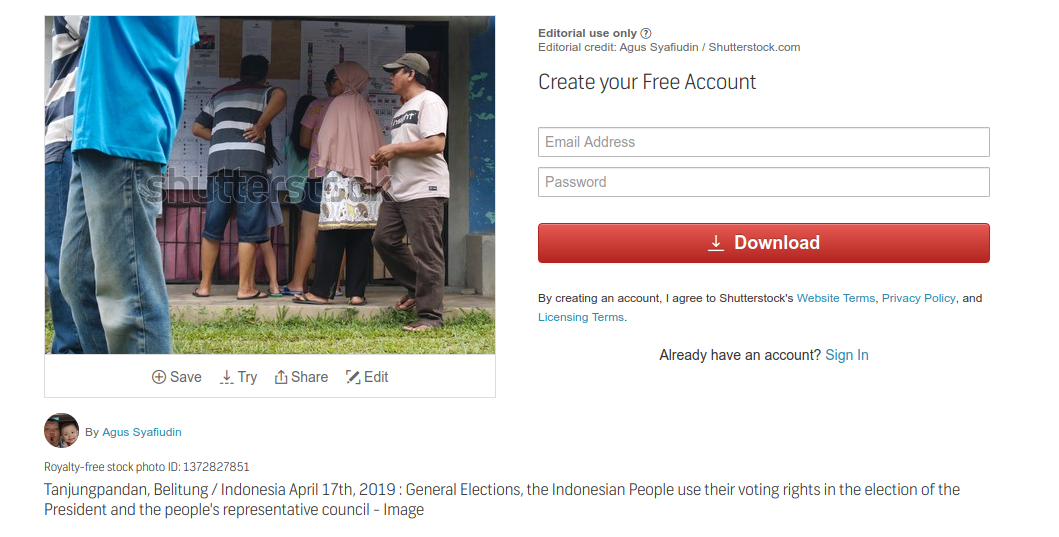 Bagaimana Upload Foto Di Shutterstock Tanpa Model Release Maupun Property Release Teras Belitong Blog